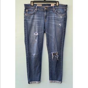 AG Adriano Goldschmied Jeans - The Stilt Roll Up